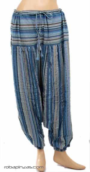 Pantalon Afgano Rayas Colores Pa1316 Zas Ropa Hippie