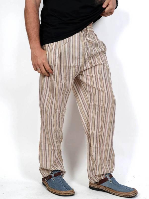 Pantalones Hippies - Pantalón hippie de rayas [PAEV05] para comprar al por mayor o detalle  en la categoría de Ropa Hippie Alternativa para Hombre.