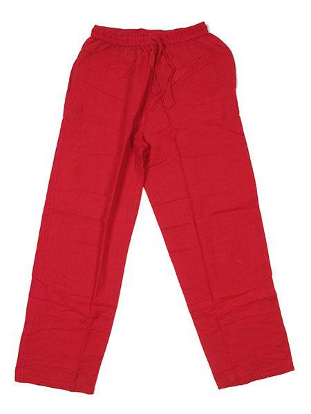 Pantalón hippie liso - Rojo Comprar al mayor o detalle