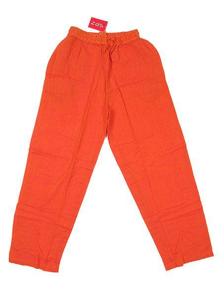 Pantalones Hippies - Pantalón 100% algodón PAEV06 - Modelo Naranja