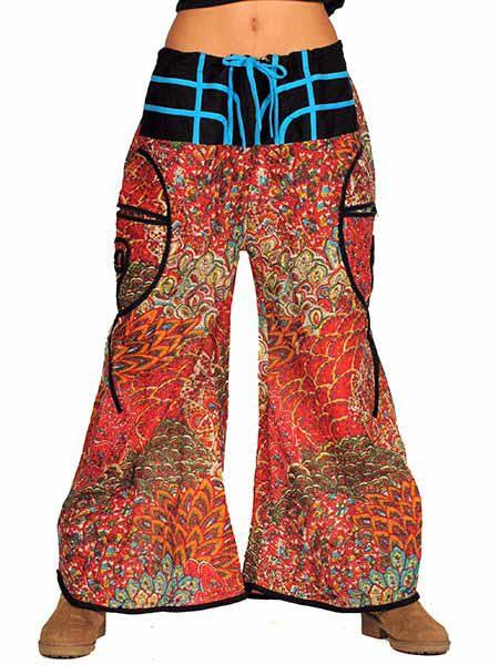 Pantalón hippie amplio satén Comprar - Venta Mayorista y detalle