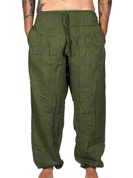 Pantalón hippie liso unisex - Detalle Comprar al mayor o detalle