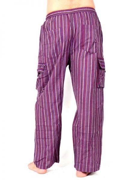 Pantalón hippie de rayas - Detalle Comprar al mayor o detalle