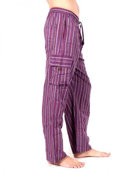 Pantalones Hippies - Pantalón hippie de rayas PAEV16 para comprar al por Mayor o Detalle en la categoría de Ropa Hippie Alternativa para Hombre