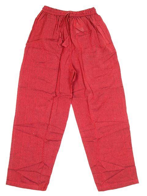 Pantalón hippie 6 bolsillos - Rojo Comprar al mayor o detalle