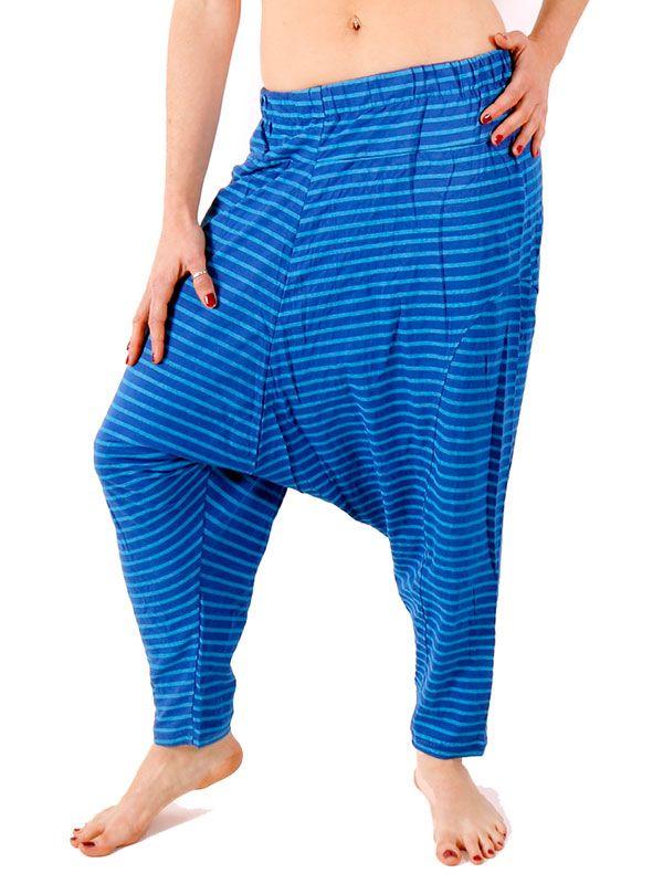 Pantalones Hippies Harem - Pantalon de algodón PAEV19.