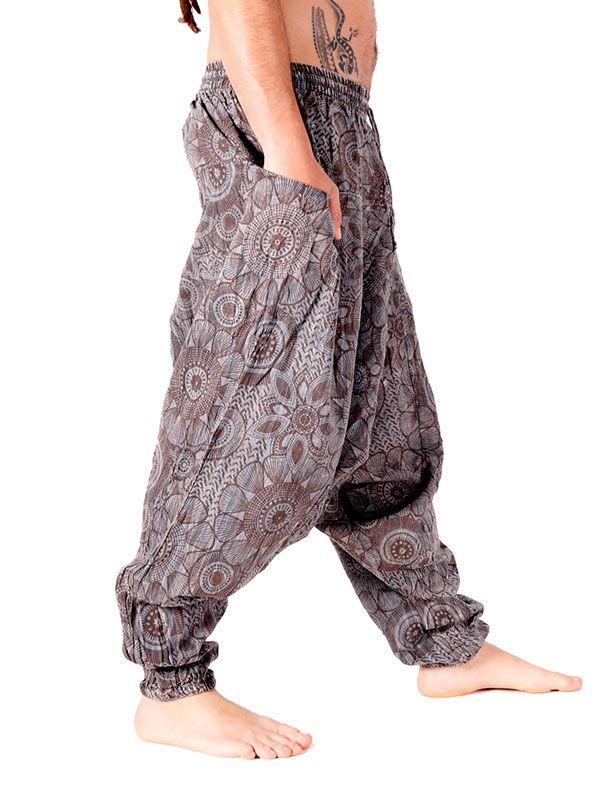 Pantalones Hippies - Pantalón étnico harem unisex [PAEV21] para comprar al por mayor o detalle  en la categoría de Ropa Hippie Alternativa para Hombre.