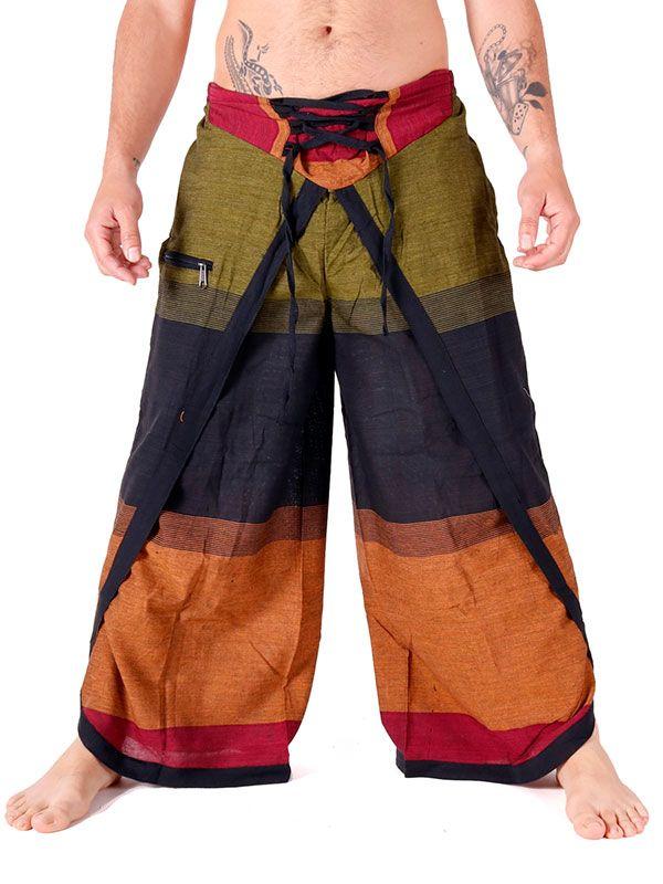 Pantalones Hippies - Pantalón étnico harem unisex [PAEV24] para comprar al por mayor o detalle  en la categoría de Ropa Hippie Alternativa para Hombre.