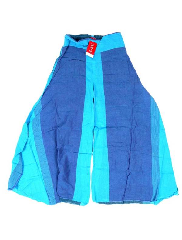 Pantalón étnico harem unisex - Azul Comprar al mayor o detalle