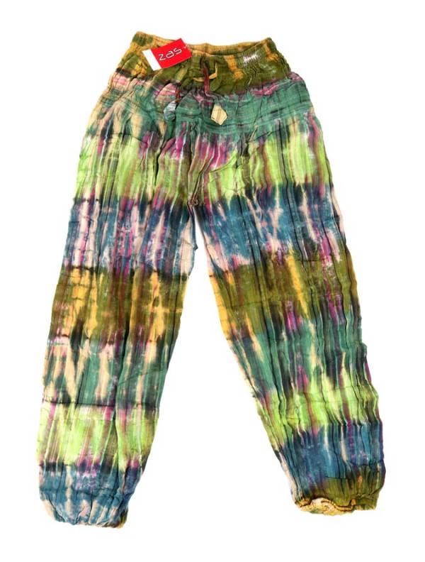 Pantalón Hippie Multicolor unisex - Verde Comprar al mayor o detalle