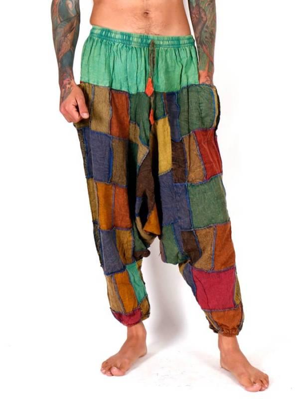 Pantalón Aladin patchwork unisex [PAEV34] para comprar al por Mayor o Detalle en la categoría de Pantalones Hippies y Alternativos