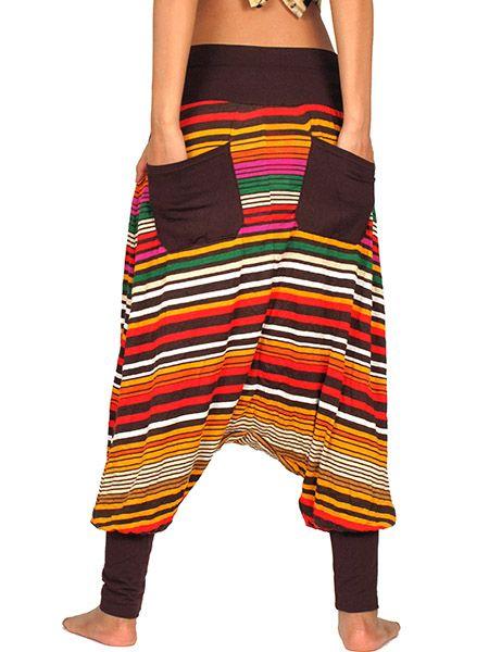 Pantalon árabe hippie estampado Comprar - Venta Mayorista y detalle