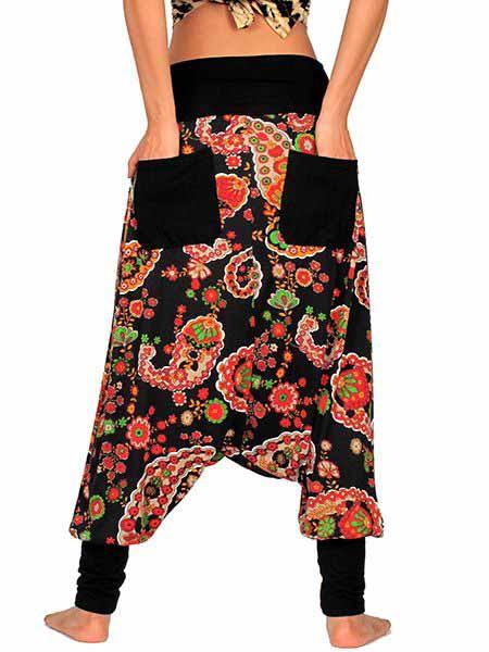 Pantalon árabe hippie estampado paramecios Comprar - Venta Mayorista y detalle