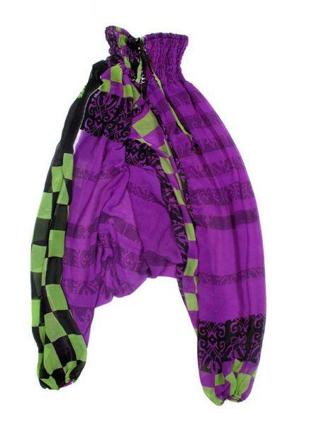 Pantalones hippies saris reciclados. Pantalónes hippies sedosos Comprar - Venta Mayorista y detalle