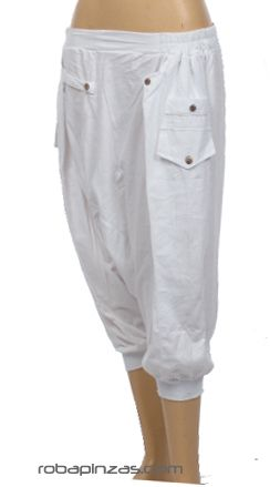 Pantalón árabe de algodón con amplio bolsillo trasero, talla Comprar - Venta Mayorista y detalle