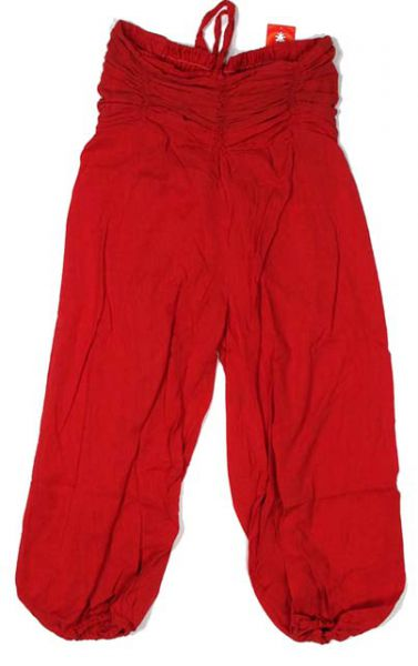 Pantalón hippie cadera fruncida. Pantalón árabe cagado con cinta Comprar - Venta Mayorista y detalle
