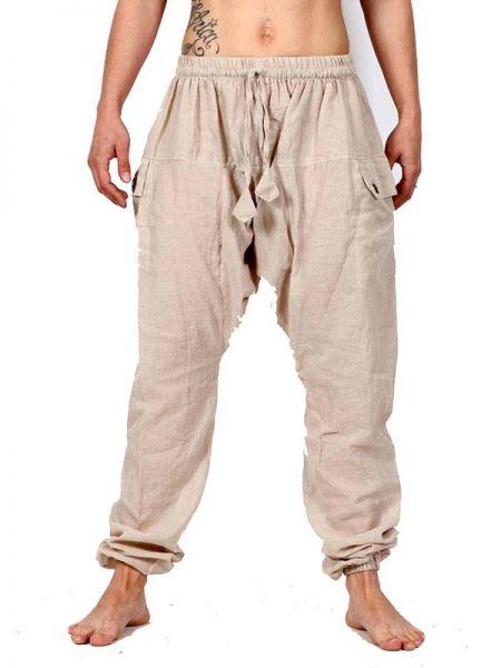 Pantalón Hippie Liso [PAHC33]. Pantalones Hippies Harem Boho para comprar al por mayor o detalle  en la categoría de Ropa Hippie Alternativa para Chicas.