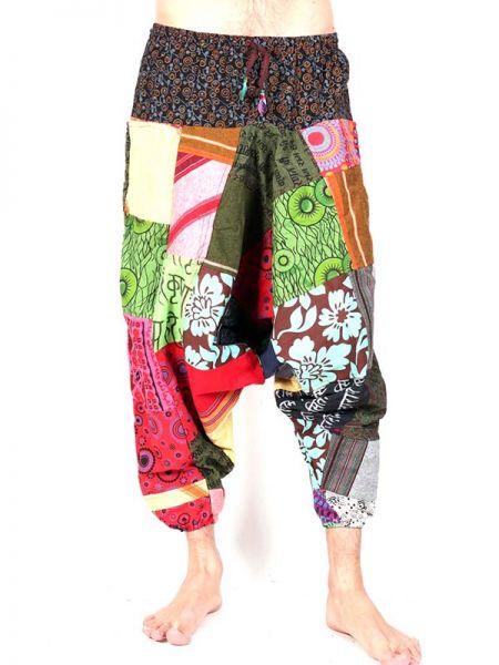 Pantalones Hippies - Pantalón hippie Patchwork [PAHC36] para comprar al por mayor o detalle  en la categoría de Ropa Hippie Alternativa para Hombre.