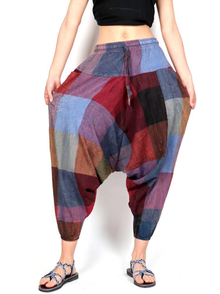 Pantalones Hippies - Pantalón étnico harem unisex [PAHC40] para comprar al por mayor o detalle  en la categoría de Ropa Hippie Alternativa para Hombre.