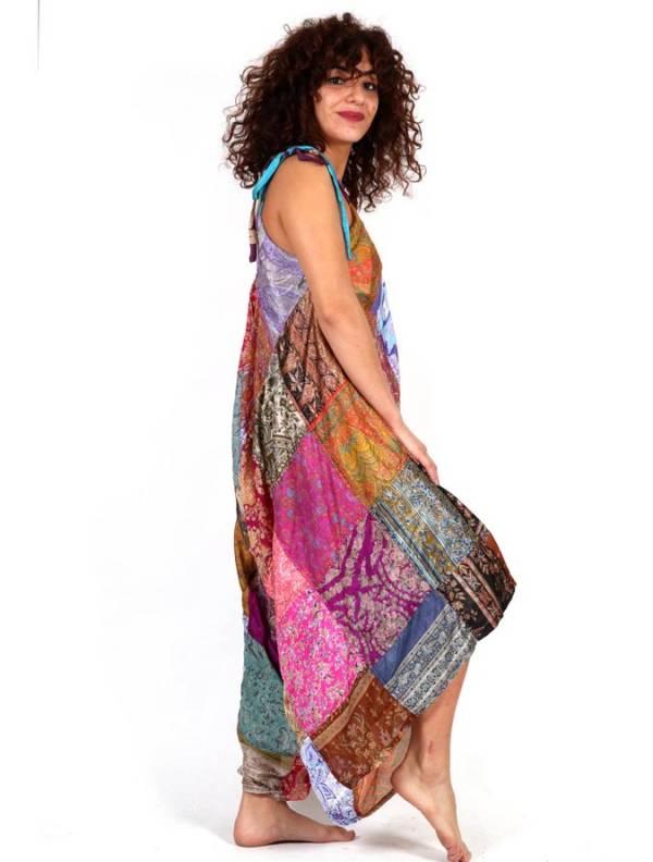 Vestido - Pantalón sedoso étnico - Detalle Comprar al mayor o detalle