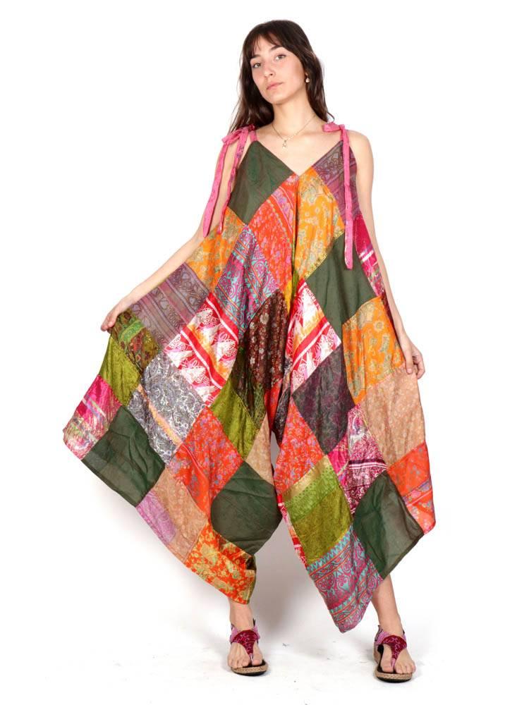 Abito - Pantaloni etnici di seta [PAHC42] da acquistare all'ingrosso o Dettaglio nella categoria di Tute e Salopette / Abiti lunghi