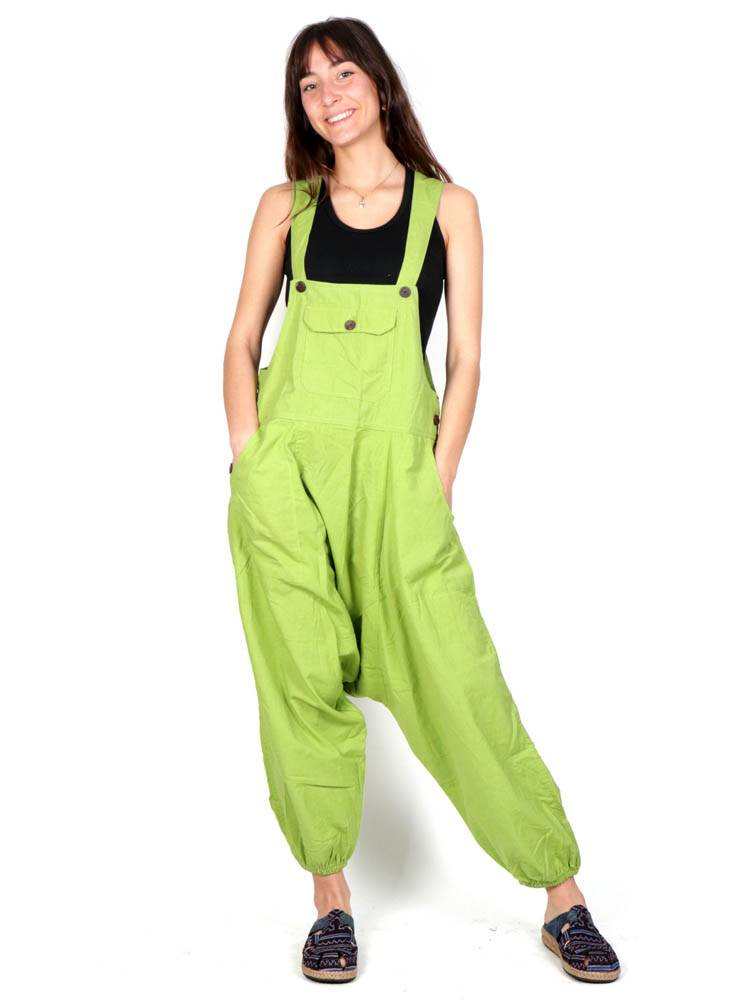 Plain Long Dungarees [PAHC43] to buy Wholesale or Detail in the category of Jumpsuits and Overalls / Long Dresses
