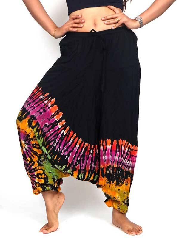 Pantalon Harem hippie Tie Dye [PAJU01] para Comprar al mayor o detalle