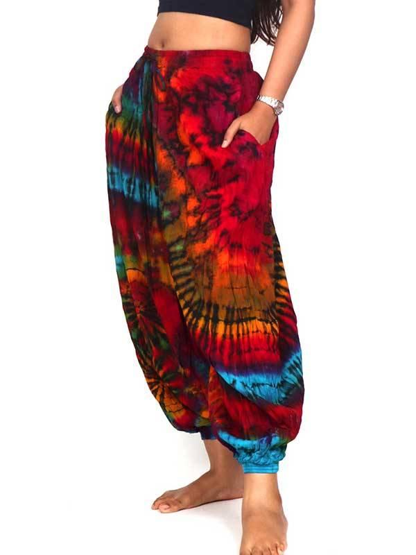 Pantalon hippie Tie Dye AMPLIO - Detalle Comprar al mayor o detalle