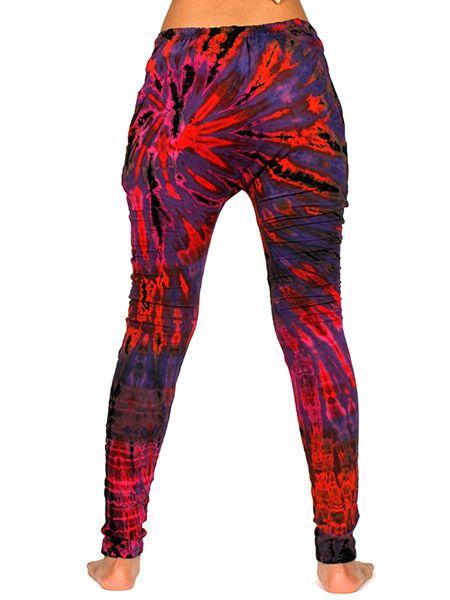Pantalón hippie largo ajustado de rayón teñido Comprar - Venta Mayorista y detalle