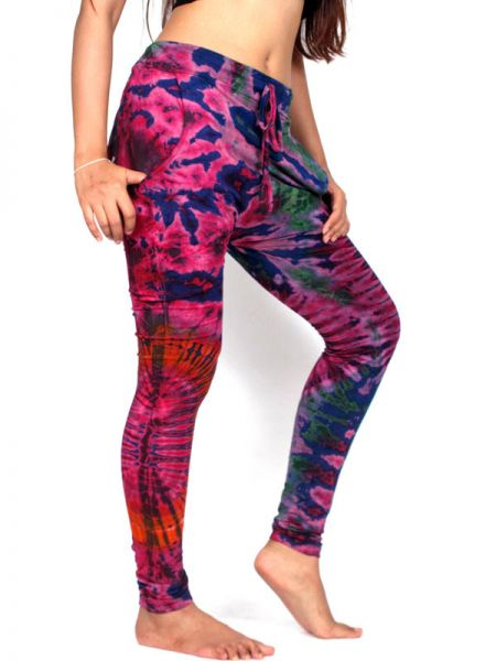 Pantalon hippie Tie Dye Ajustado [PAJU04] para Comprar al mayor o detalle