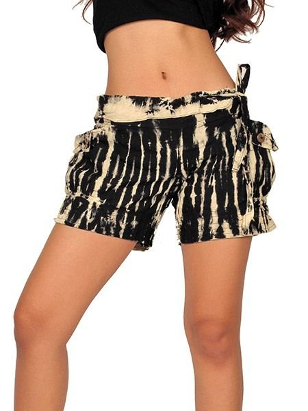 Pantalon hippie corto Tie Dye [PAJU06] para Comprar al mayor o detalle