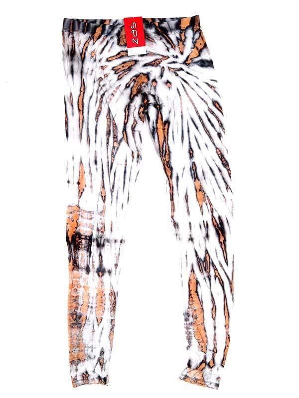 Pantalon leggins hippie Tie Dye - Blanco Comprar al mayor o detalle