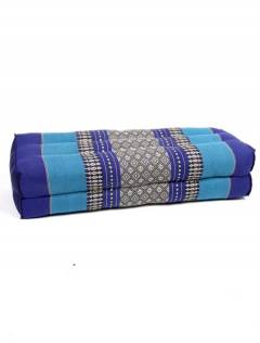 Pillow Rectangular double Thai Kapok cushion, to buy wholesale or detail in the Alternative Ethnic Decoration category. Incense and Displays | ZAS Hippie Store. [ALMO07]