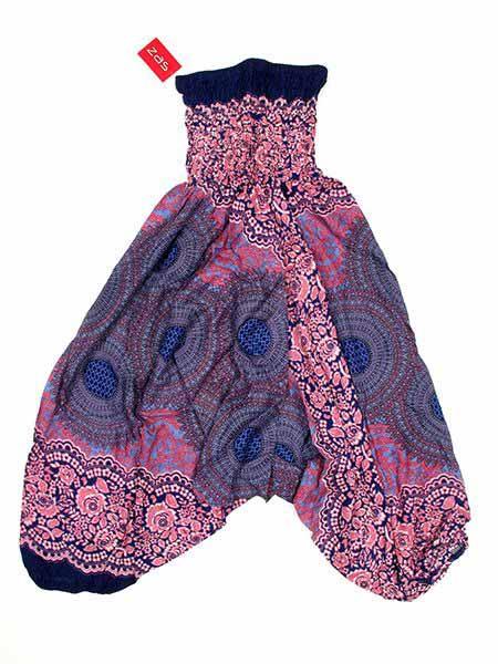 Pantalon árabe rayón mandalas - Morado Comprar al mayor o detalle
