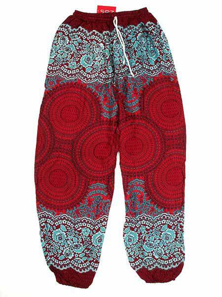 - Pantalon amplio rayón mandalas [PAPA02] para comprar al por mayor o detalle  en la categoría de Complementos Hippies Étnicos Alternativos.