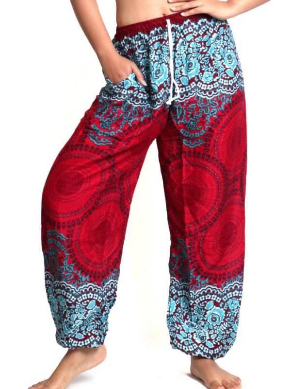 Pantalones Hippies Harem - Pantalon amplio rayón mandalas [PAPA02] para comprar al por mayor o detalle  en la categoría de Ropa Hippie Alternativa para Mujer.