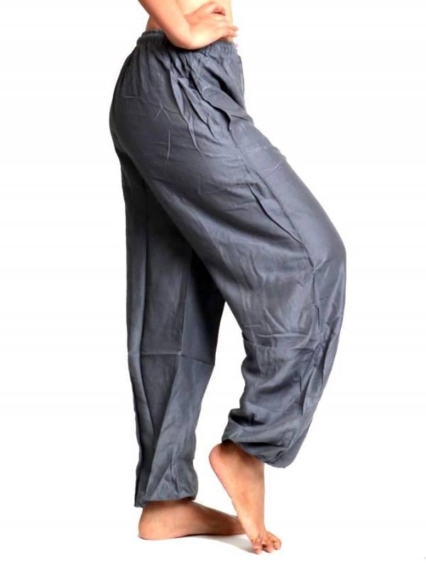 Pantalon unisex amplio rayón liso - Detalle Comprar al mayor o detalle