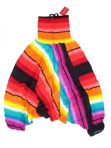 Pantalones Hippies Harem - Pantalón hippie ancho PAPA13 - Modelo Rojo