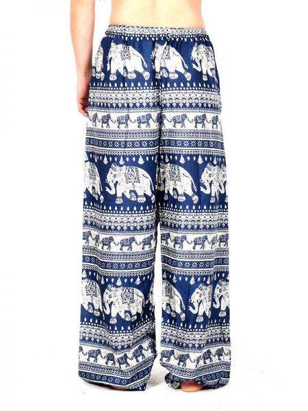 Pantalon amplio rayón elefantes - Detalle Comprar al mayor o detalle
