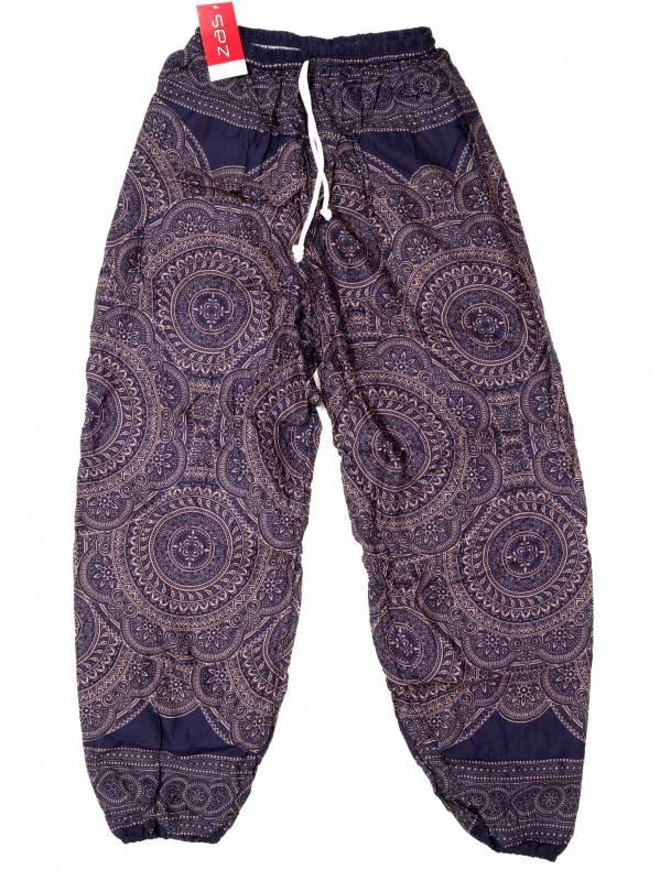 Pantalon amplio rayón mandalas - Morado Comprar al mayor o detalle