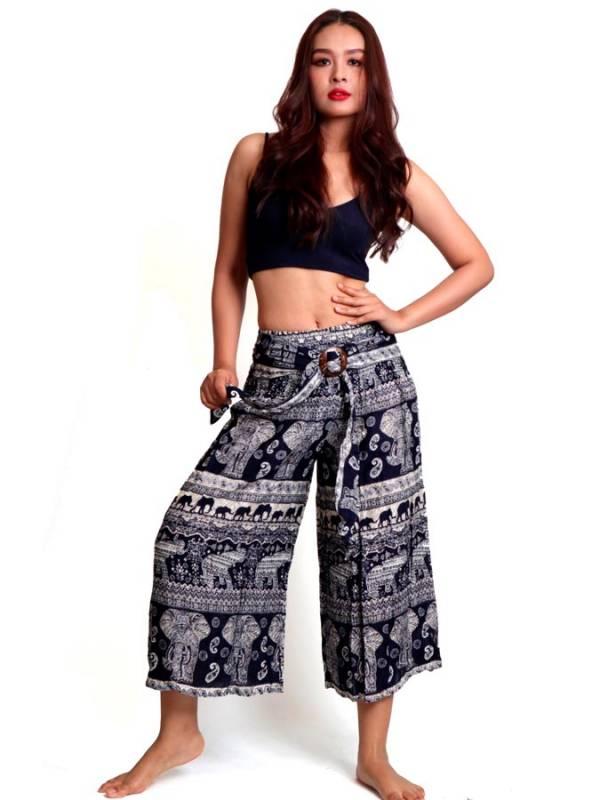 Pantalón Hippie con hebilla de coco - Detalle Comprar al mayor o detalle