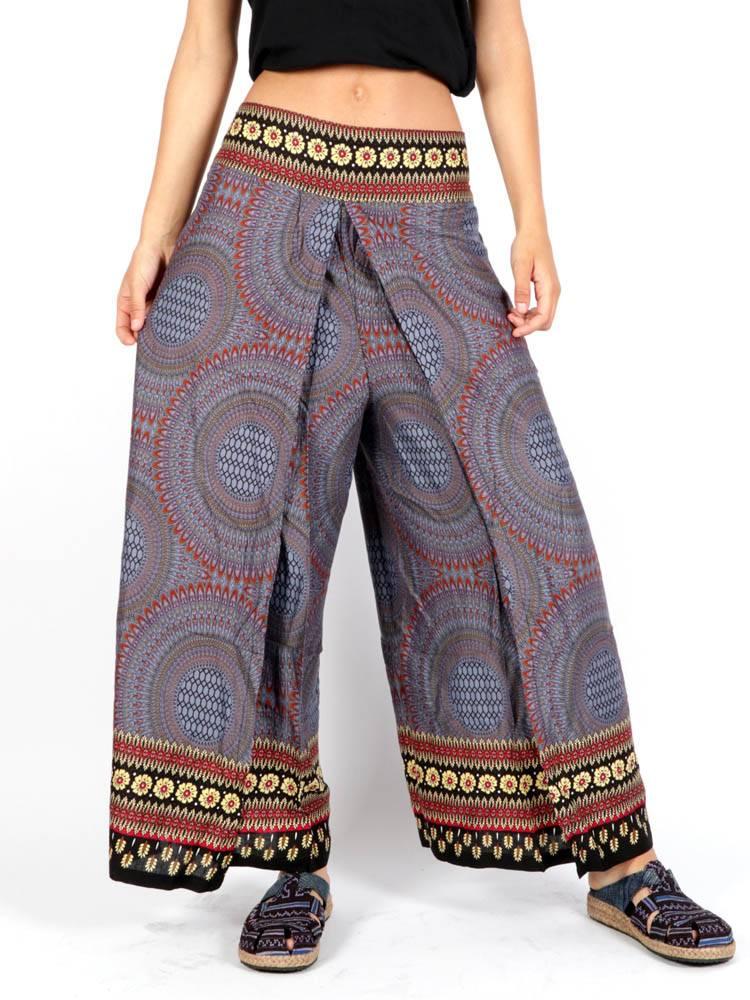 Pantalón Hippie Pierna cruzada [PAPI03] para comprar al por Mayor o Detalle en la categoría de Pantalones Hippies Harem Yoga