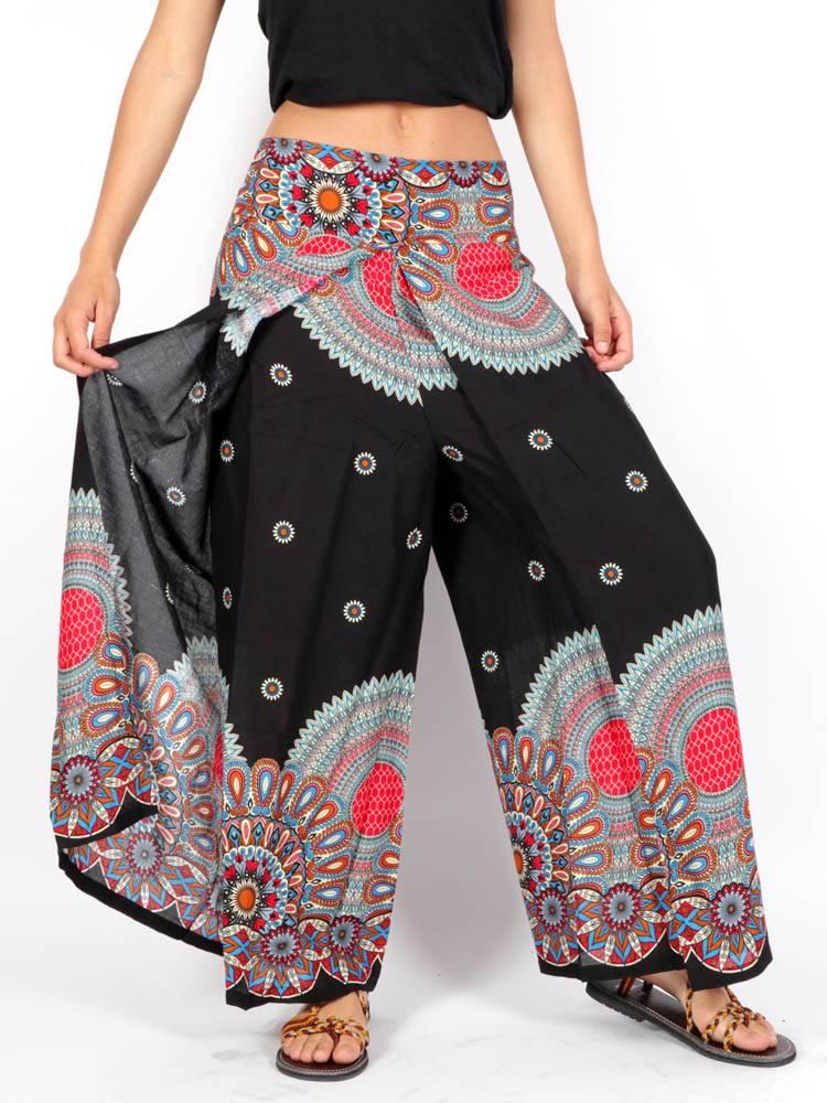 Pantalón Hippie Pierna cruzada [PAPI04] para comprar al por Mayor o Detalle en la categoría de Pantalones Hippie Harem