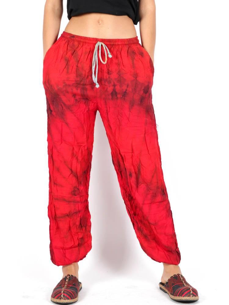 Pantalon hippie Tie Dye Amplio [PAPN02] para comprar al por Mayor o Detalle en la categoría de Pantalones Hippies Harem Yoga