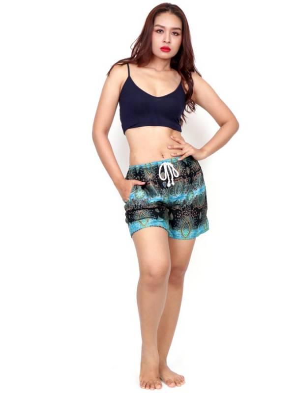 Pantalon corto estampado Etnico - Detalle Comprar al mayor o detalle
