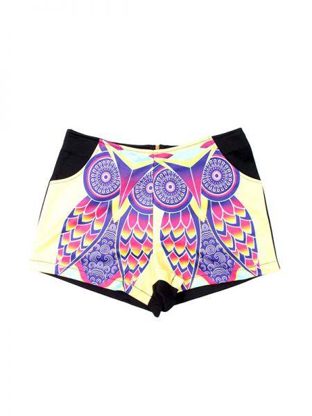 Pantalón corto estampados naif PAPO04 para comprar al por mayor o detalle  en la categoría de Outlet Hippie Étnico Alternativo.