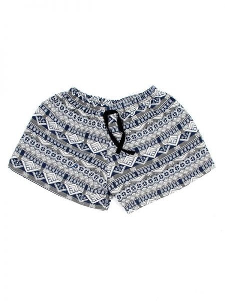 Pantalon corto algodón estampado - Blanco Comprar al mayor o detalle