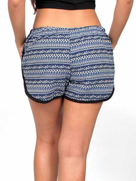 Pantalon corto algodón estampado - Detalle Comprar al mayor o detalle