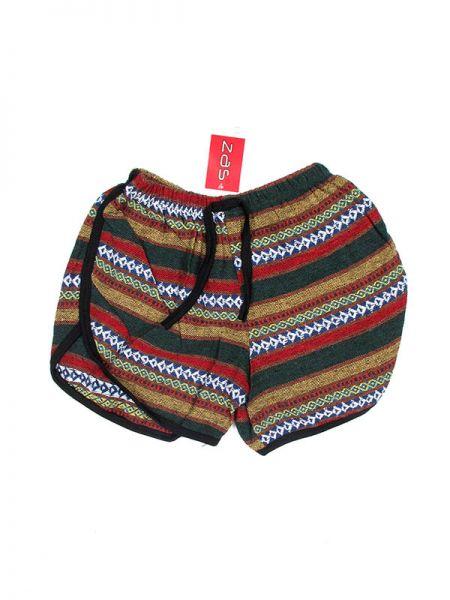 Pantalón hippie corto de algodón estampado hippie étnico. Comprar - Venta Mayorista y detalle