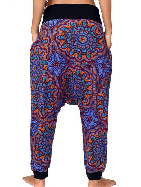 Pantalon hippie estampado mandalas - Detalle Comprar al mayor o detalle